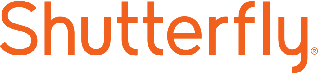 logo for the photo products manufacturer, Shutterfly