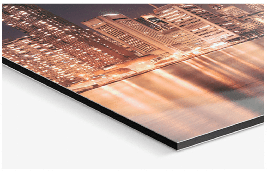 example of aluminum print made by Whitewall