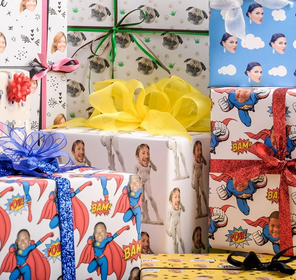 wrapped packages communicating creative gift ideas