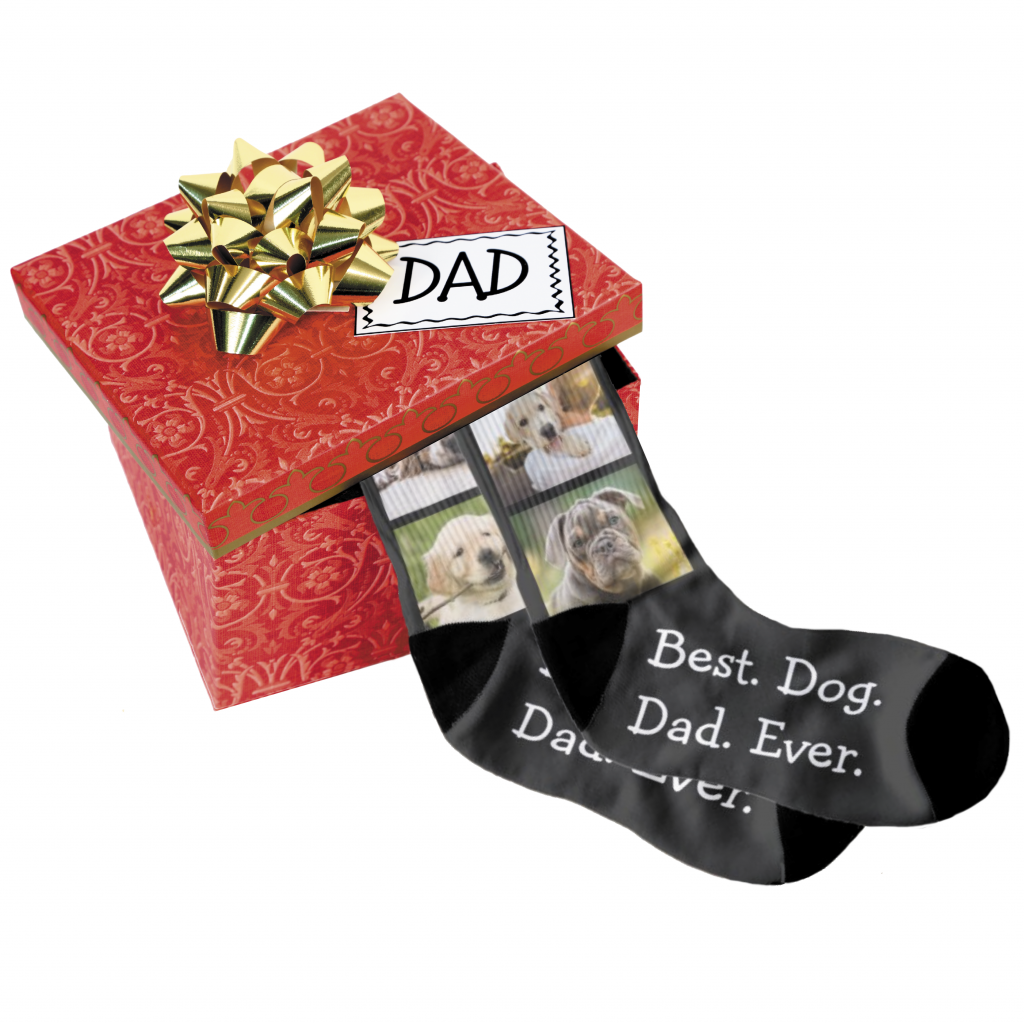 Gift box for Dad with socks